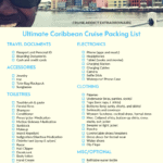 Ultimate Caribbean Cruise Packing List
