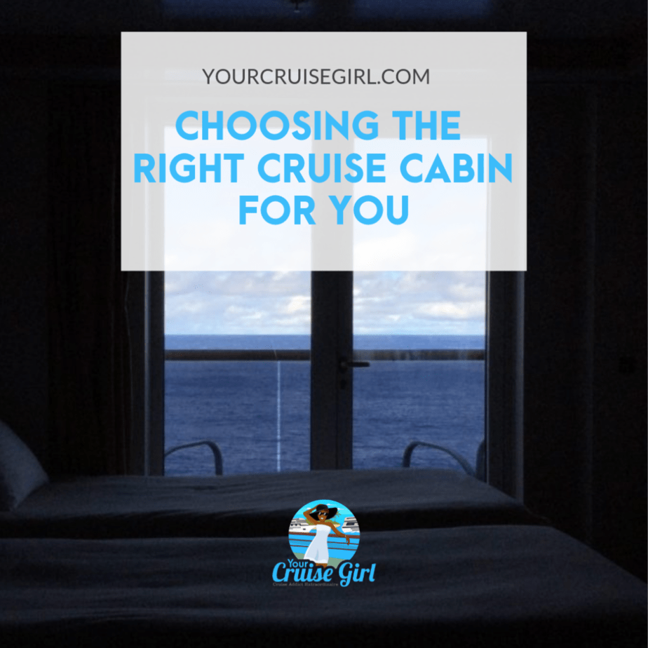 Choosing the Right Cruise Cabin For You