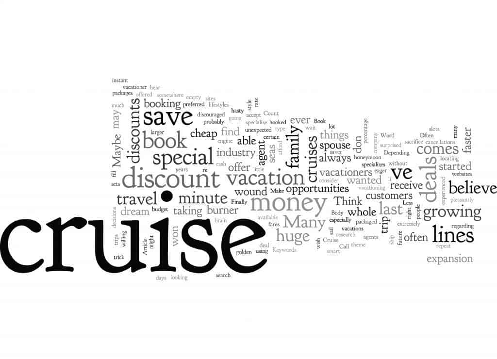 Ways to save on your next cruise image.
