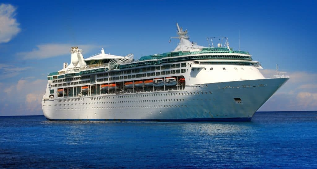 Photo of a cruise ship in price drop blog post.