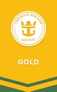 Royal Caribbean Crown & Anchor Gold